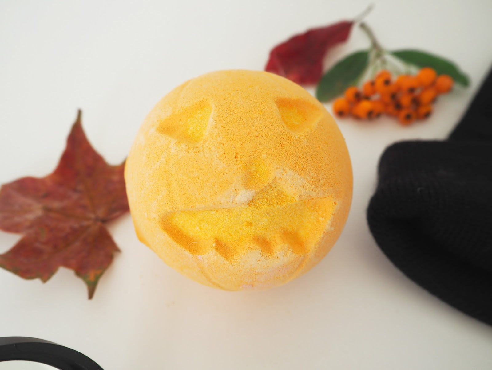 Loves List: October, Katie Kirk Loves, Makeup, Pumpkin Bath Bomb, Lush Halloween, Lush Cosmetics, Beauty Blogger, UK Blogger