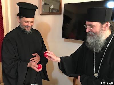 ИПЦ Греции: Пасхальные приветствия в приходах Аттики и Беотии. ФОТО