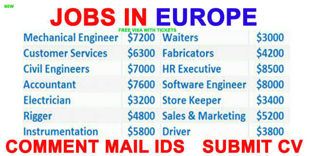 europe countries job opportunities