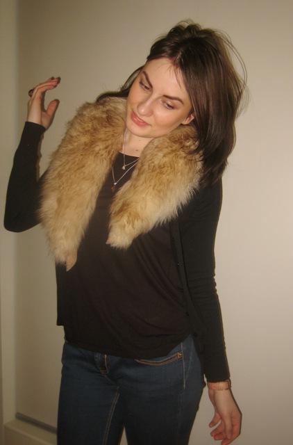 Fur on Black