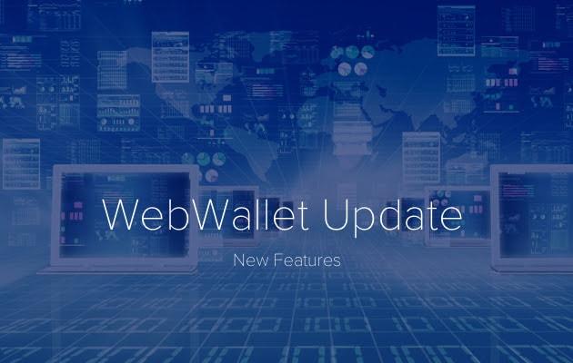 DasCoin - Tính năng mới WebWallet