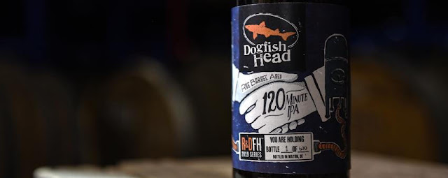 Dogfish Head Releasing Rye Barrel-Aged 120 Minute IPA