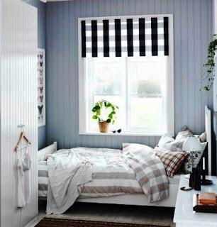 warna cat kamar tidur sempit 2x3
