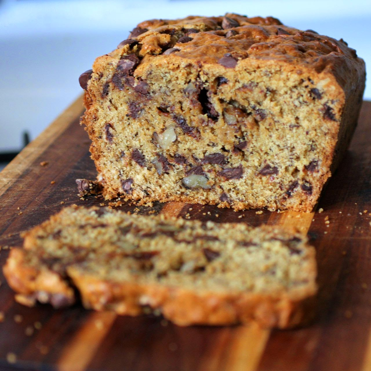 Easy Chocolate Banana Loaf Cake