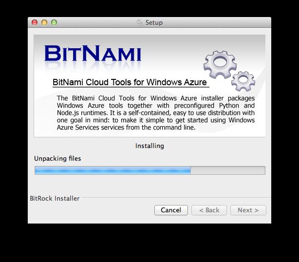 Bitnami Blog: New Cloud Tools for Windows Azure