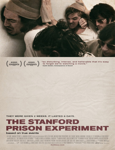 El Experimento De La Cárcel De Stanford (2015) Online