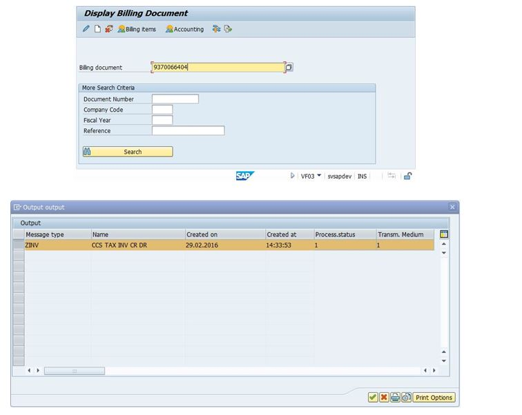 How To Display Billing Document In Sap