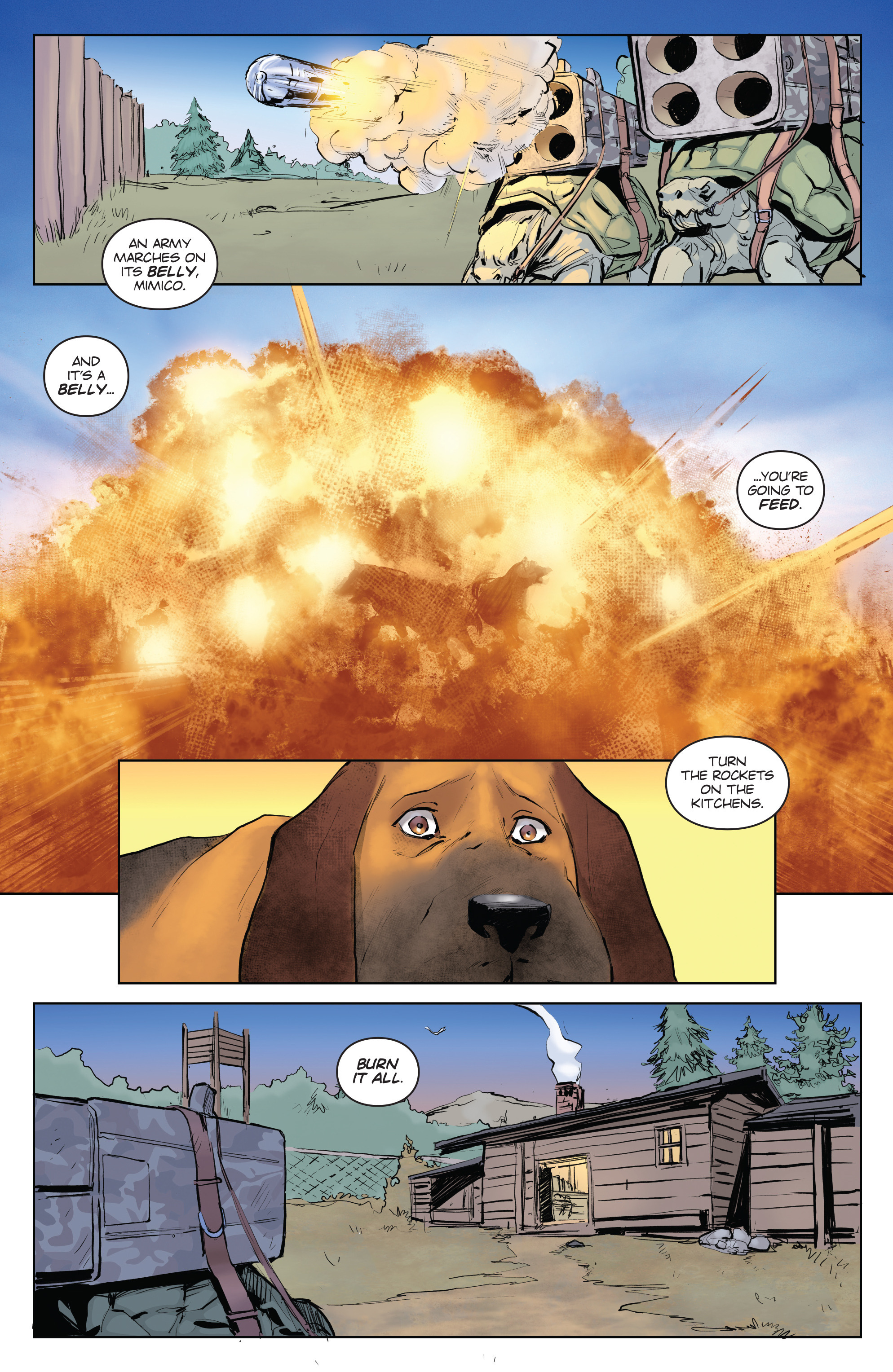 Read online Animosity comic -  Issue #4 - 11