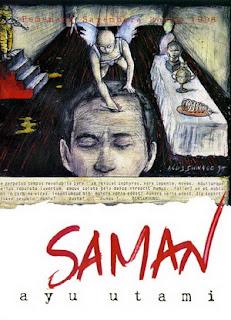"""""""Saman"""", karya Ayu Utami"""