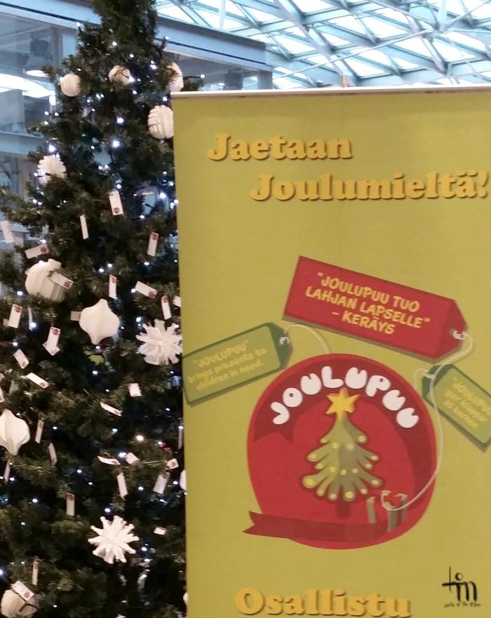 joulupuu -keräys - jaetaan joulumieltä
