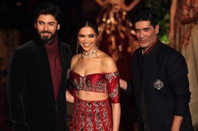 Fawad Khan, Deepika Padukone, Manish Malhotra, The Persian Story, FDCI India Couture Week 2016, Taj Palace Delhi