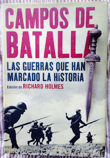 Portada del libro Campos de batalla, de varios autores