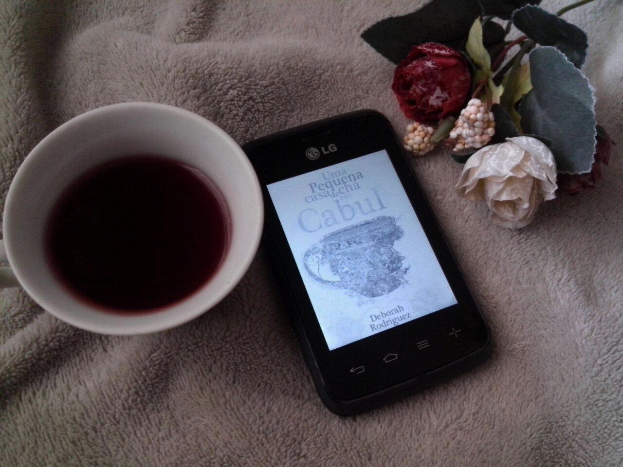Uma pequena casa de chá em Cabul