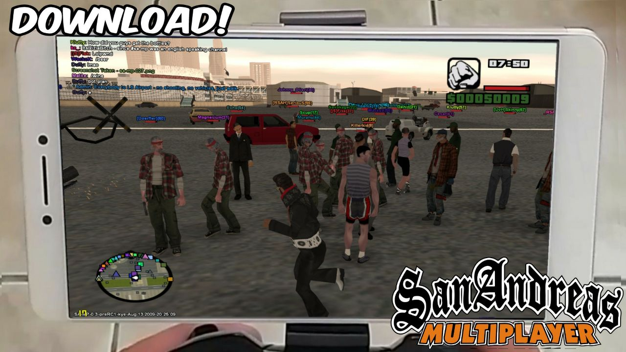 gta san andreas online download android