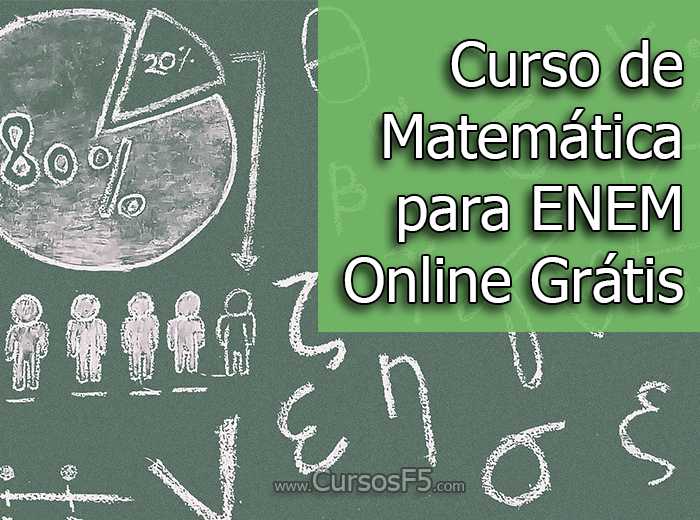 Curso de Matemática para ENEM Online Grátis