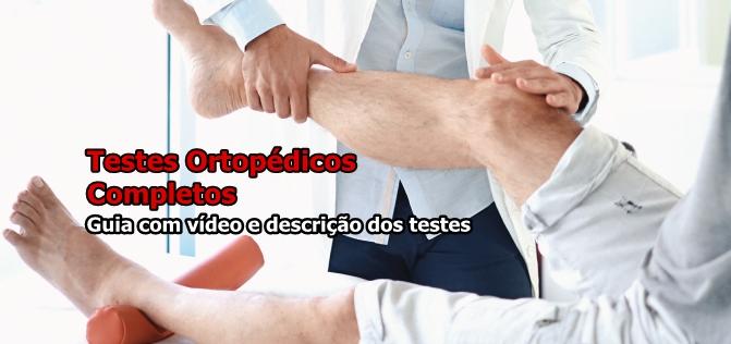 Ebook Testes Ortopédicos Completo