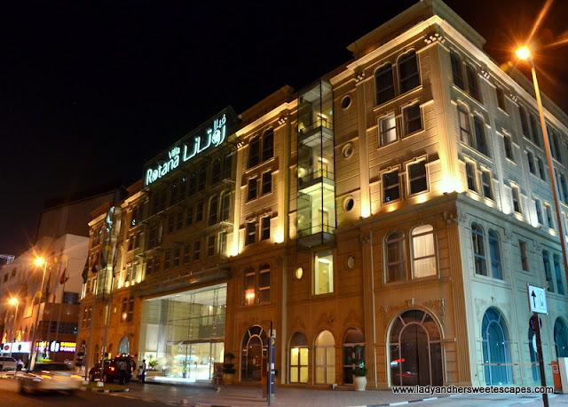 Villa Rotana beautifully standing along Sheikh Zayed Road
