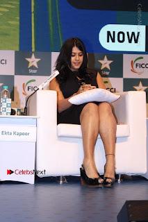 Ekta Kapoor Anurag Kashyap & Ramesh SippyAt at FICCI FRAMES 2017  0020.JPG