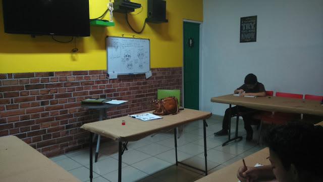 Foto del curso de dibujo manga en la ciudad de Panamá