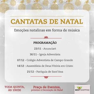 West Shopping apresenta concerto gratuito do coral Angeluz da Igreja Adventista