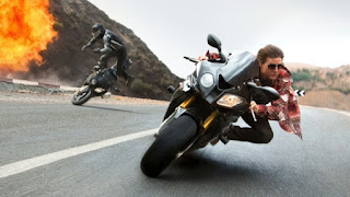 Mission Impossible Rogue Naiton Tom Cruise motorcycle chase