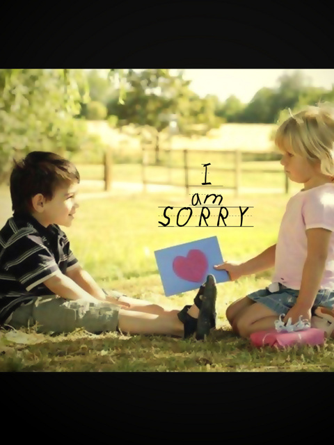 HD WALLPAPERS: Sorry Sad Wallpaper