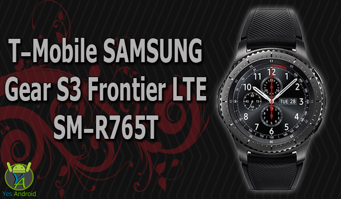 T-Mobile Samsung Gear S3 Frontier LTE SM-R765T Specs Datasheet