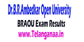 Dr.B.R.Ambedkar Open University (BRAOU) Exam Results