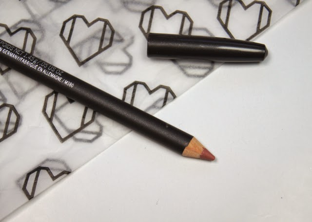 mac subculture lip pencil liner review swatch rosy pink nude