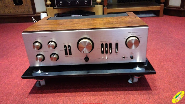Amply Luxman L80V - Made in Japan