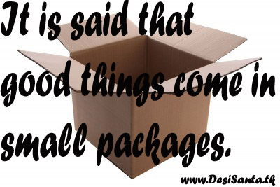 Quote Good Things Come In Small Packages Ausreise Info