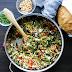 Lemon Garlic Orzo with Roasted Vegetables #pasta #vegan