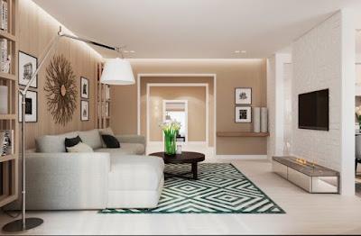 Novo interior moderno