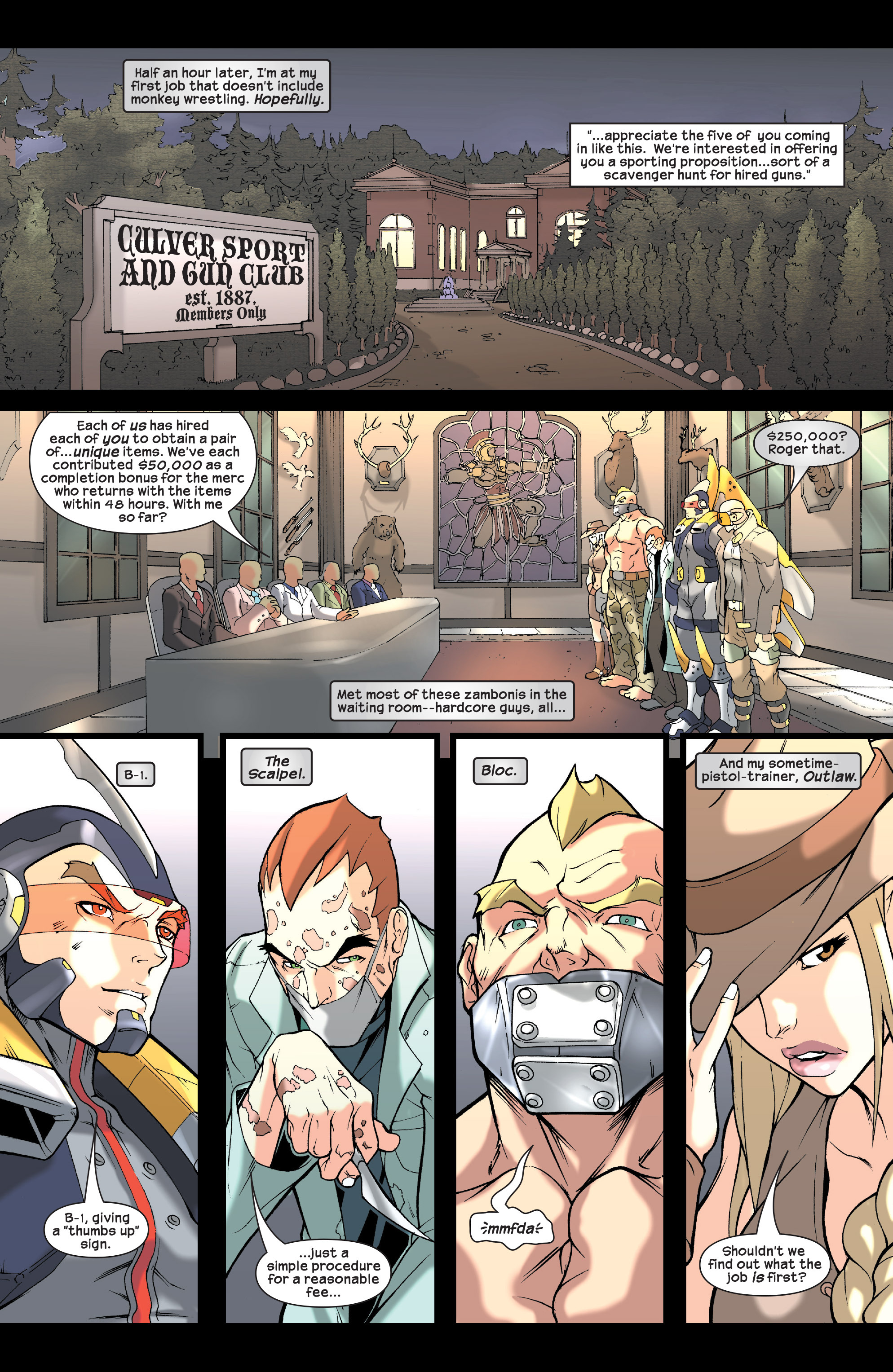 Read online Agent X comic -  Issue #2 - 7