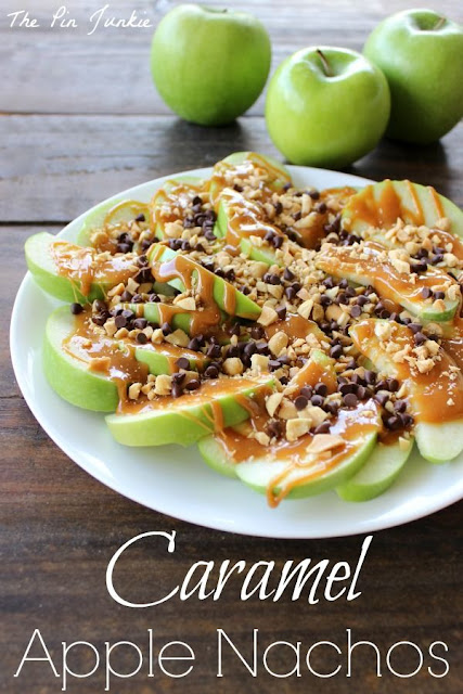 Caramel apple nacho recipe