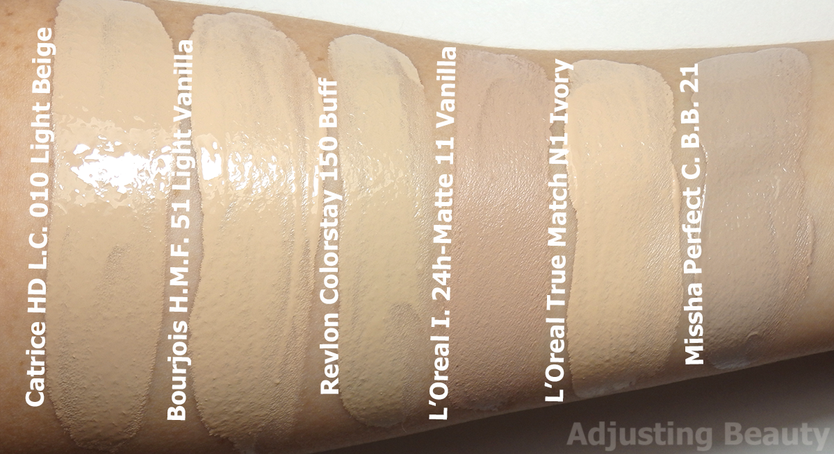 Review Catrice Hd Liquid Coverage Foundation 01 Light