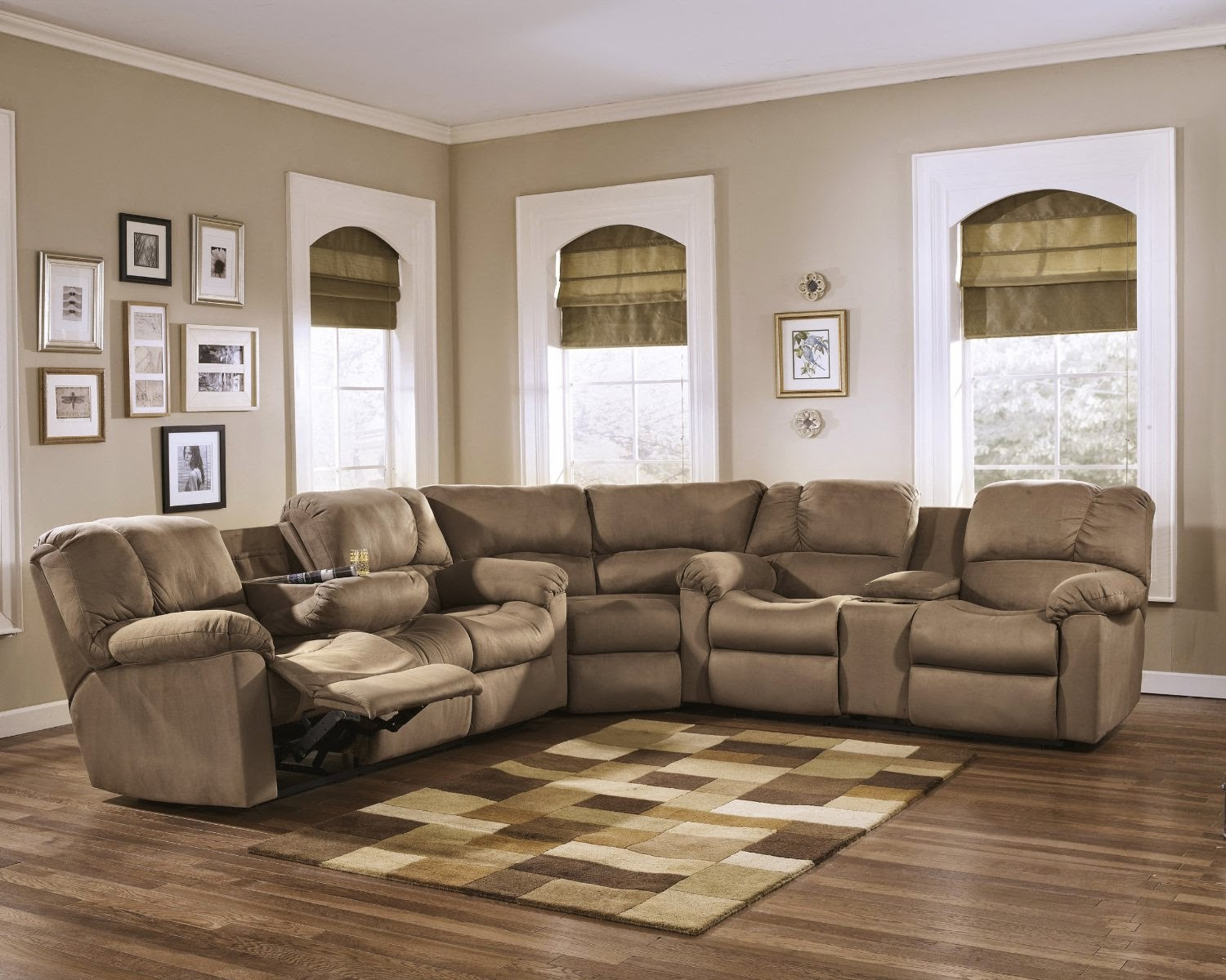 Best Leather Reclining Sofa Brands Reviews: Curved Leather ...