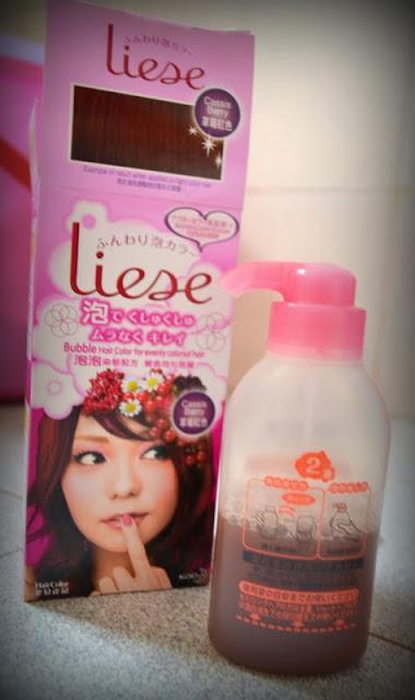 liese bubble hair colour diy