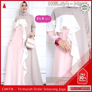 Jual RRJ107D118 Dress Helga Maxy Wanita Sy Terbaru Trendy BMGShop