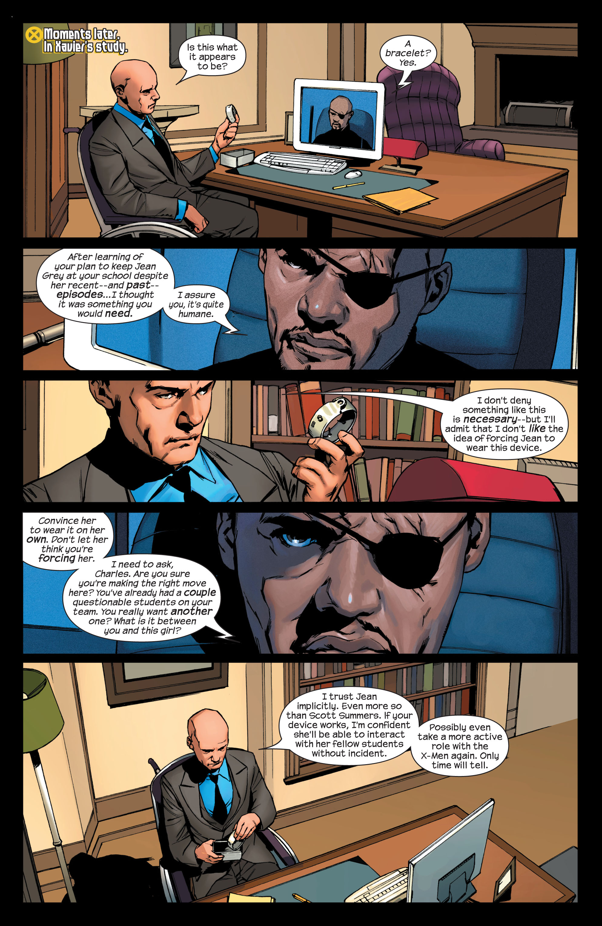 Read online Ultimate X-Men comic -  Issue #75 - 5