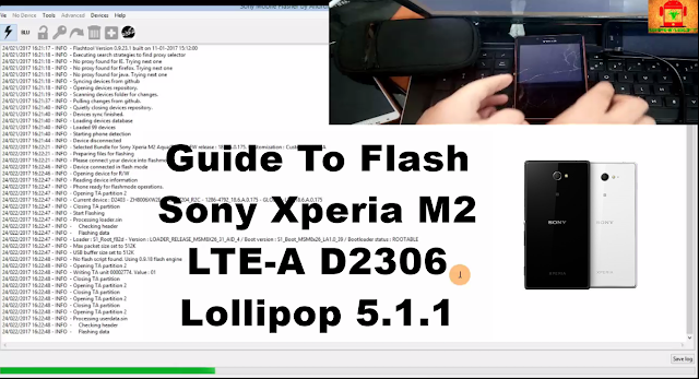 Sony Xperia M2 LTE-A D2306 Lollipop 5.1.1 Tested Firmware