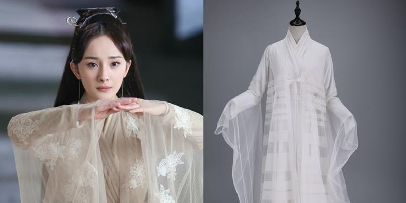 Trang phục của Dương Mịch trong Tam sinh được đấu giá gần 30 triệu