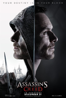 "Poster do filme ""Assassin's Creed"""