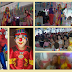 Domingo foi de carnaval para os baixinhos com o Palhaço Xililique e muito frevo