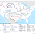 The Rivers of the United States as a Subway Map