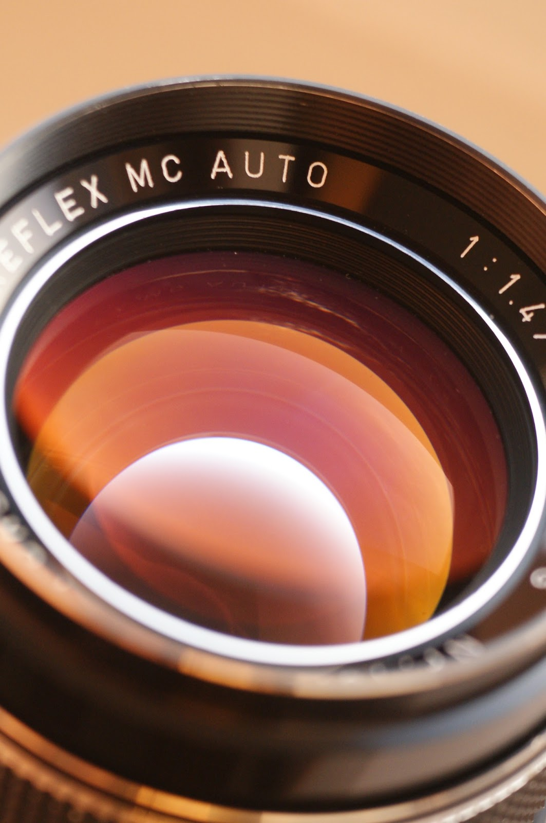 Porst Color Reflex MC Auto 1.4/55 sample