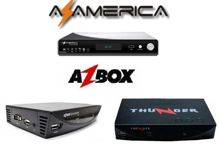 AZBOX THUNDER & BRAVÍSSIMO PLUS TRANSFORMADO AZAMÉRICA S1008 (DMS1008) ATUALIZAÇÃO - 17-02-2018