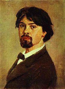 Galerie tretiakov Moscou Vassili Sourikov : Autoportrait