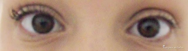 Comparação: Máscara de cílios Maybelline X Tango.