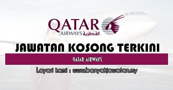 Jawatan Kosong 2019 di Qatar Airways